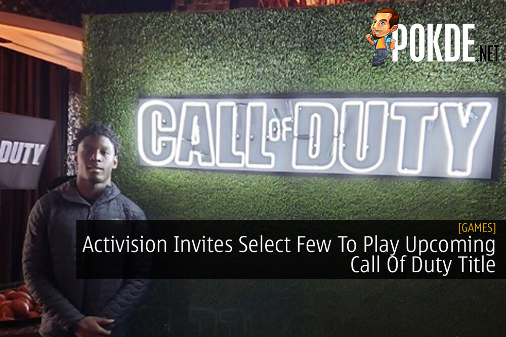 Activision Invites Select Few To Play Upcoming Call Of Duty Title 18