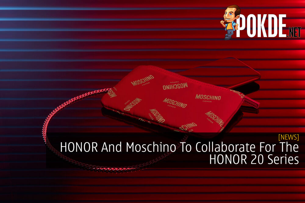 HONOR And Moschino To Collaborate For The HONOR 20 Series 23