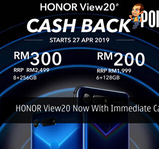 HONOR View20 Now With Immediate Cashback 25
