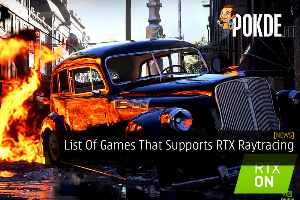 List Of Games That Supports RTX Raytracing 23