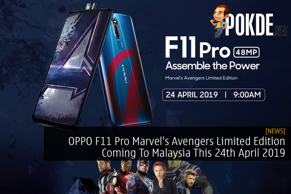 OPPO F11 Pro Marvel's Avengers Limited Edition Coming To Malaysia This 24th April 2019 25