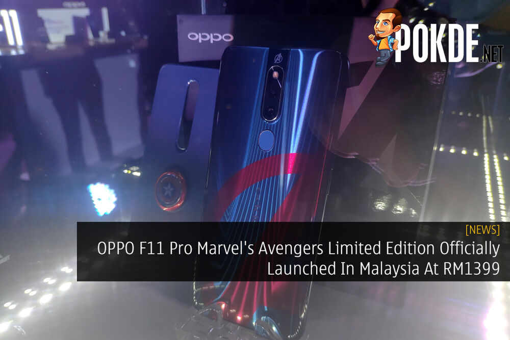 OPPO F11 Pro Marvel's Avengers Officially Launched In Malaysia At RM1399 19