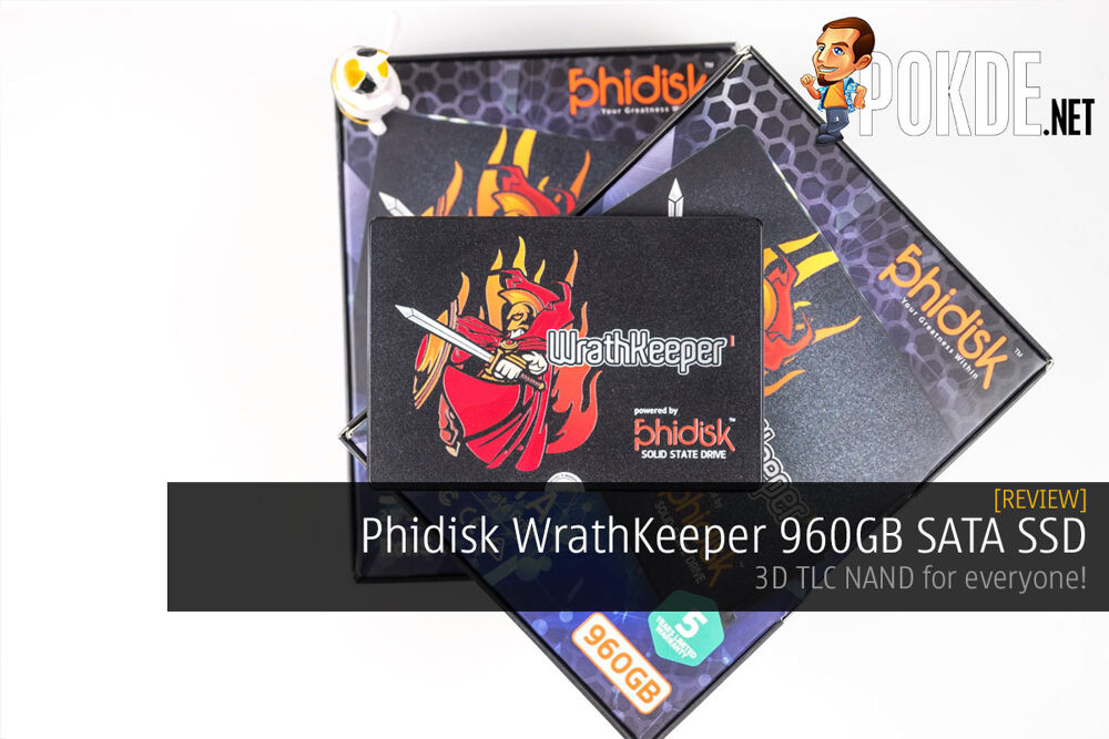 Phidisk WrathKeeper 960GB SATA SSD review — 3D TLC NAND for everyone! 16