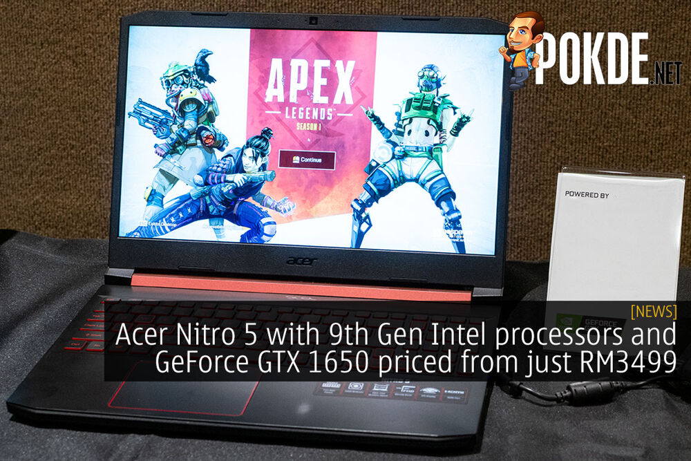 Acer Nitro 5 with 9th Gen Intel processors and GeForce GTX 1650 priced from just RM3499 21