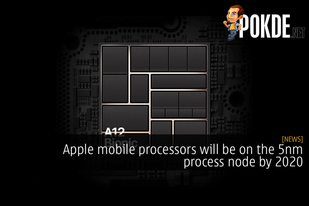 Apple mobile processors will be on the 5nm process node by 2020 19