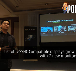 List of G-SYNC Compatible displays grow by 41% with 7 new monitors added 47