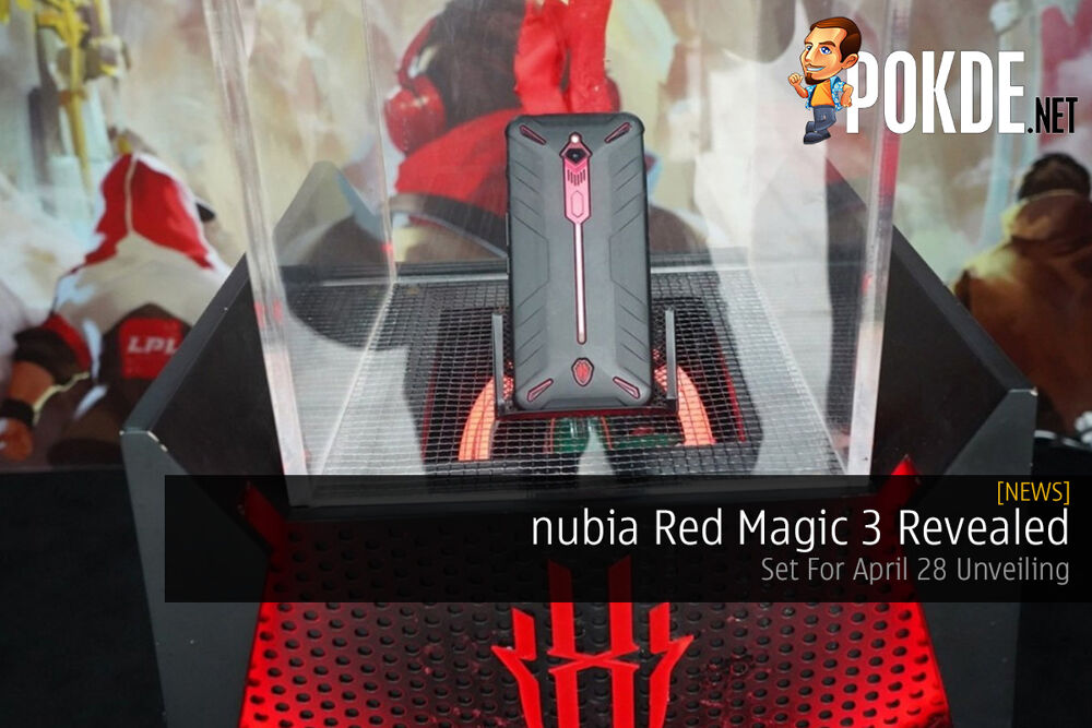 nubia Red Magic 3 Revealed — Set For April 28 Unveiling 27