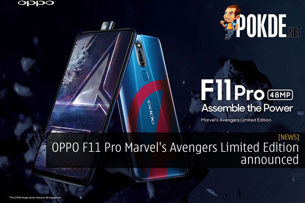 OPPO F11 Pro Marvel's Avengers Limited Edition announced 18