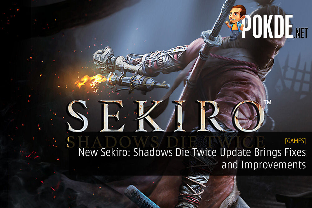 New Sekiro: Shadows Die Twice Update Brings Fixes and Improvements