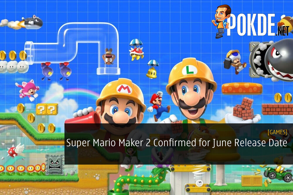 Super Mario Maker 2 Confirmed for June Release Date