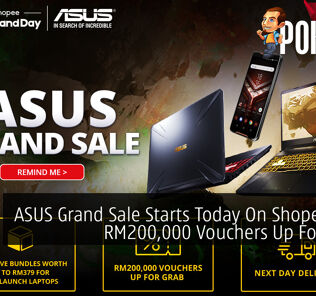 ASUS Grand Sale Starts Today On Shopee With RM200,000 Vouchers Up For Grabs 19
