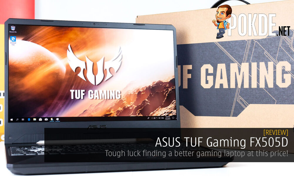 ASUS TUF Gaming FX505D Review — tough luck finding a better gaming laptop at this price! 27