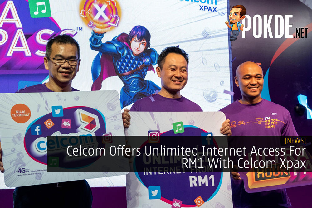 Celcom Offers Unlimited Internet Access For RM1 With Celcom Xpax 24