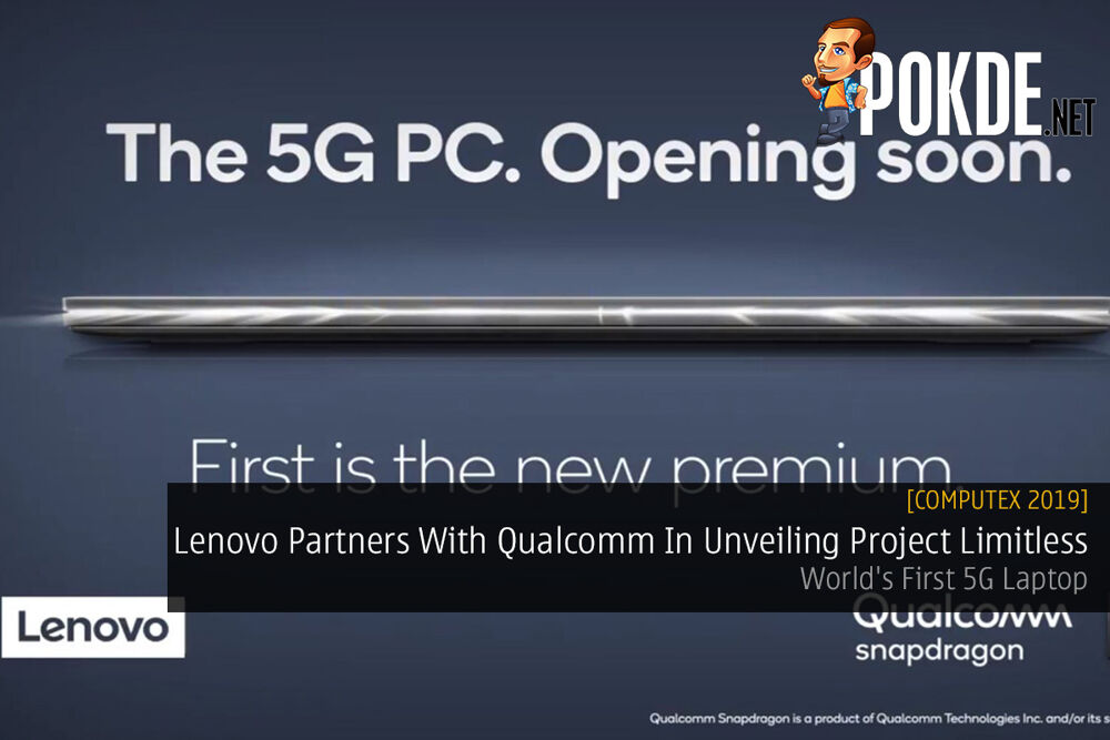 [Computex 2019] Lenovo Partners With Qualcomm In Unveiling Project Limitless — World's First 5G Laptop 24