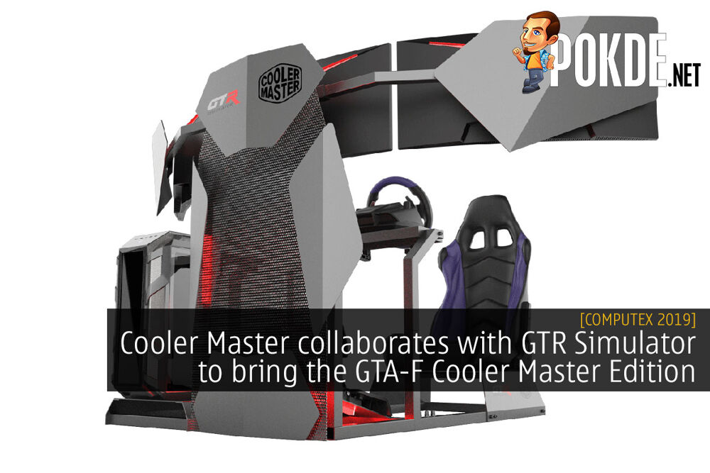 [Computex 2019] Cooler Master collaborates with GTR Simulator to bring the GTA-F Cooler Master Edition 22