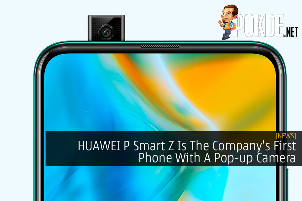 HUAWEI P Smart Z Is The Company's First Phone With A Pop-up Camera 19