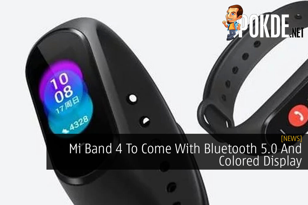 Mi Band 4 To Come With Bluetooth 5.0 And Colored Display 20
