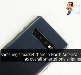 Samsung's market share in North America increases as overall smartphone shipments drop 25