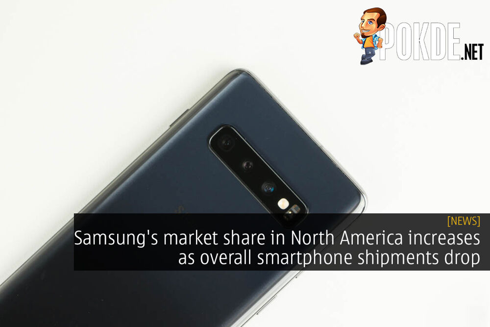 Samsung's market share in North America increases as overall smartphone shipments drop 32