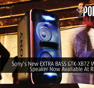 Sony's New EXTRA BASS GTK-XB72 Wireless Speaker Now Available At RM1,499 35