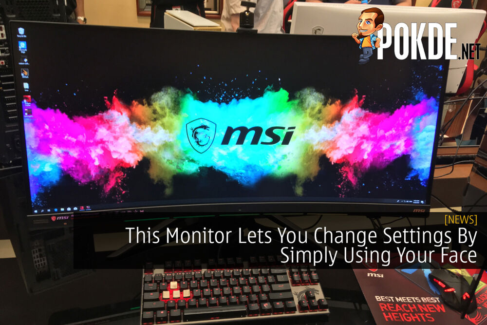 This Monitor Lets You Change Settings By Simply Using Your Face 19