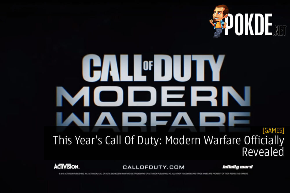 This Year's Call Of Duty: Modern Warfare Officially Revealed 18