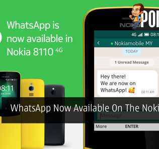 WhatsApp Now Available On The Nokia 8110 4G 28