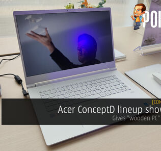 "[Computex 2019] Acer ConceptD lineup showcased — gives ""wooden PC"" a new take 22"