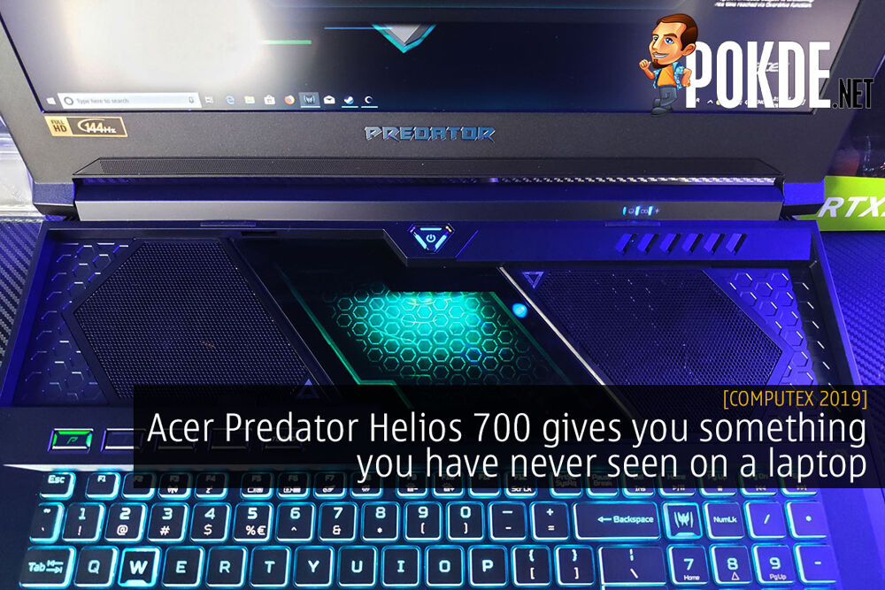 [Computex 2019] Acer Predator Helios 700 gives you something you have never seen on a laptop 27