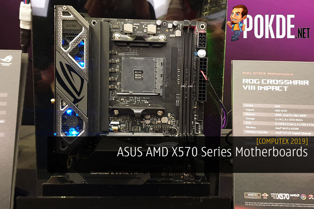 [Computex 2019] ASUS AMD X570 Series Motherboards - Be spoilt for choices 19