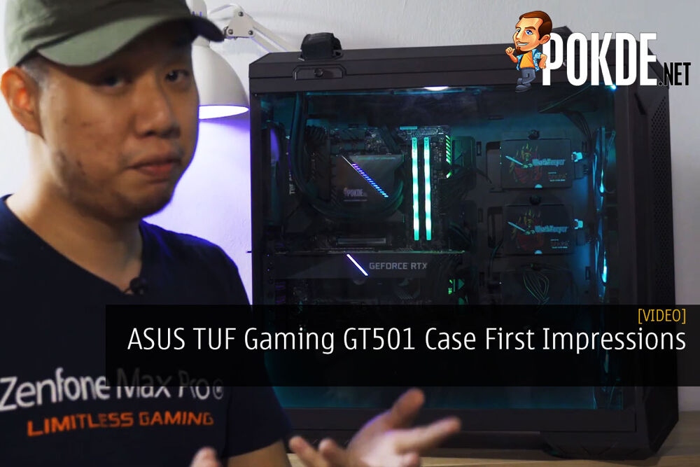 ASUS TUF Gaming GT501 Case First Impressions 16