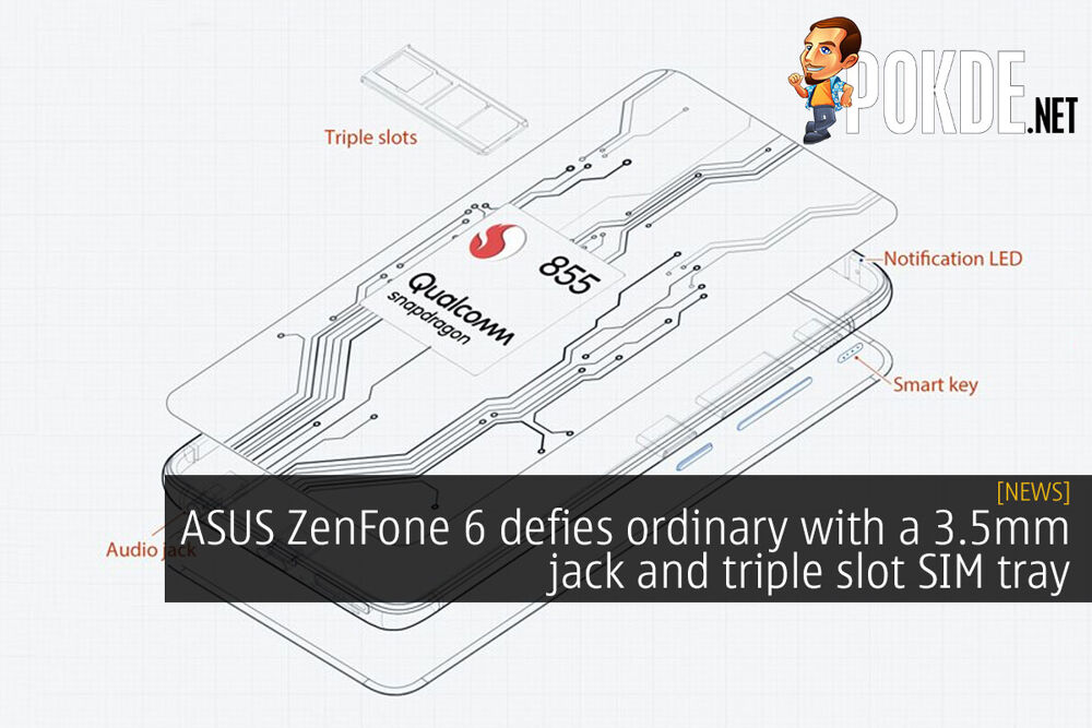ASUS ZenFone 6 defies ordinary with a 3.5mm jack and triple slot SIM tray 23