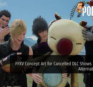 Final Fantasy XV Concept Art for Cancelled DLC Shows Potential Alternate Ending