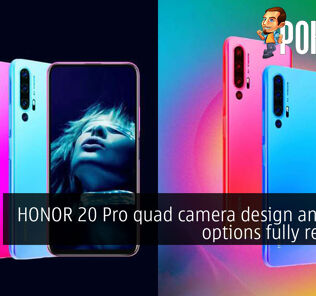 HONOR 20 Pro quad camera design and color options fully revealed 21