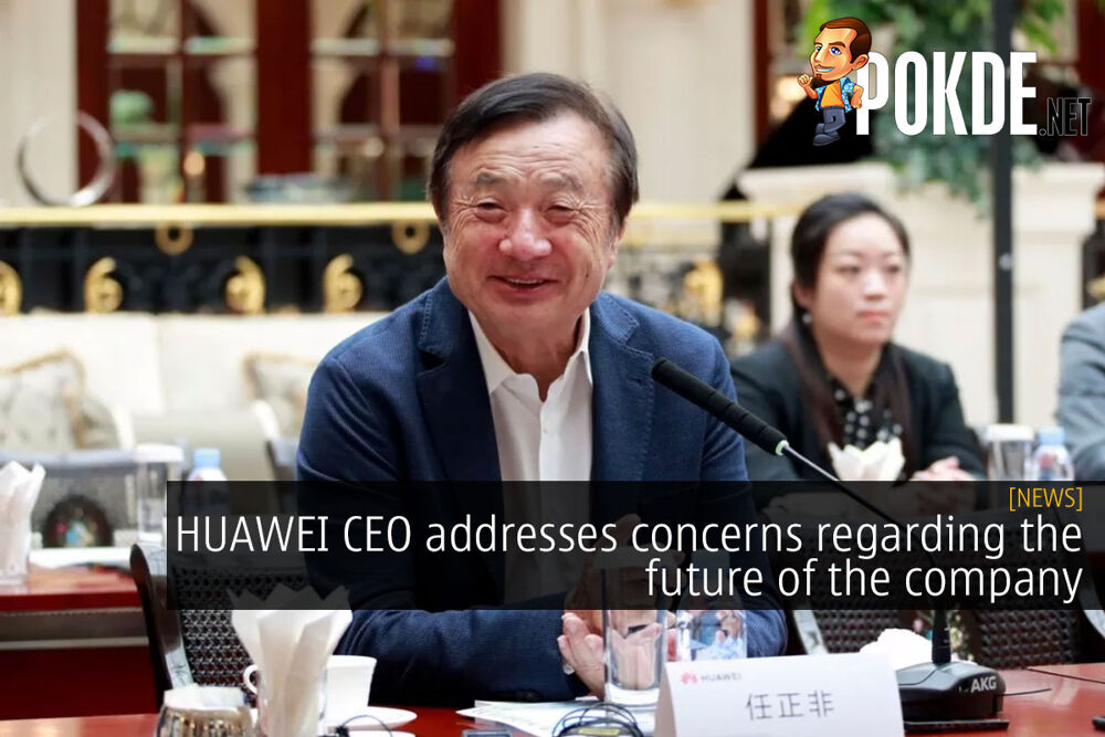 HUAWEI CEO addresses concerns regarding the future of the company 19