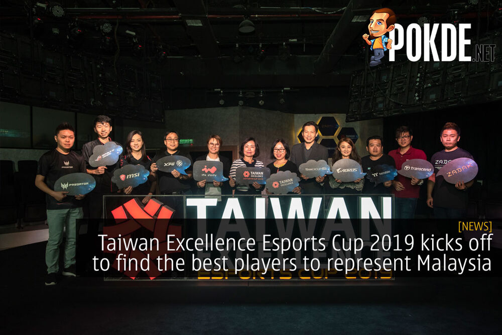 Taiwan Excellence Esports Cup 2019 kicks off to find the best players in various esports titles 26