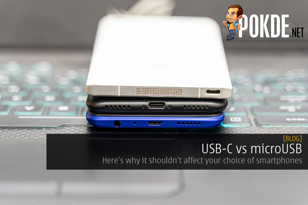 USB-C vs microUSB — here's why it shouldn't affect your choice of smartphones 21