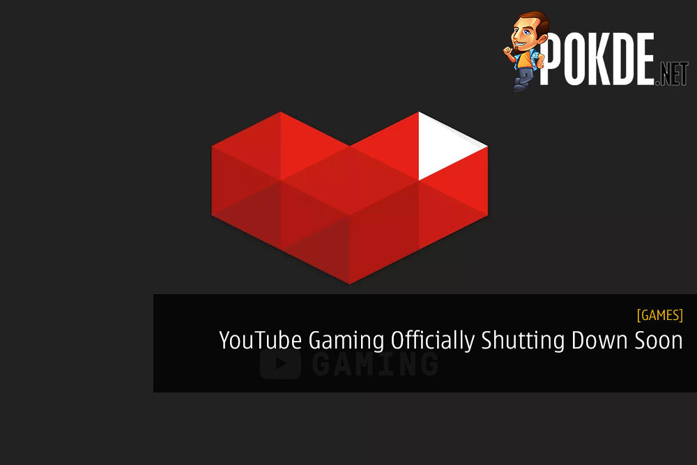 YouTube Gaming Officially Shutting Down Soon