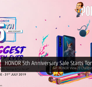 HONOR 5th Anniversary Sale Starts Tomorrow — HONOR View20 Cheaper By RM500 22