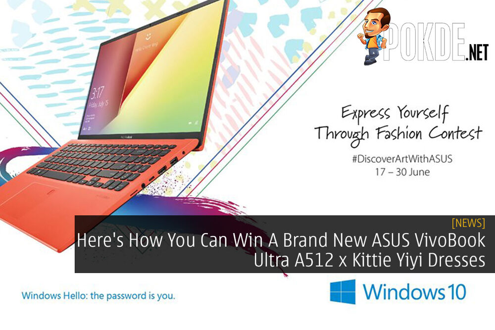 Here's How You Can Win A Brand New ASUS VivoBook Ultra A512 x Kittie Yiyi Dresses 20