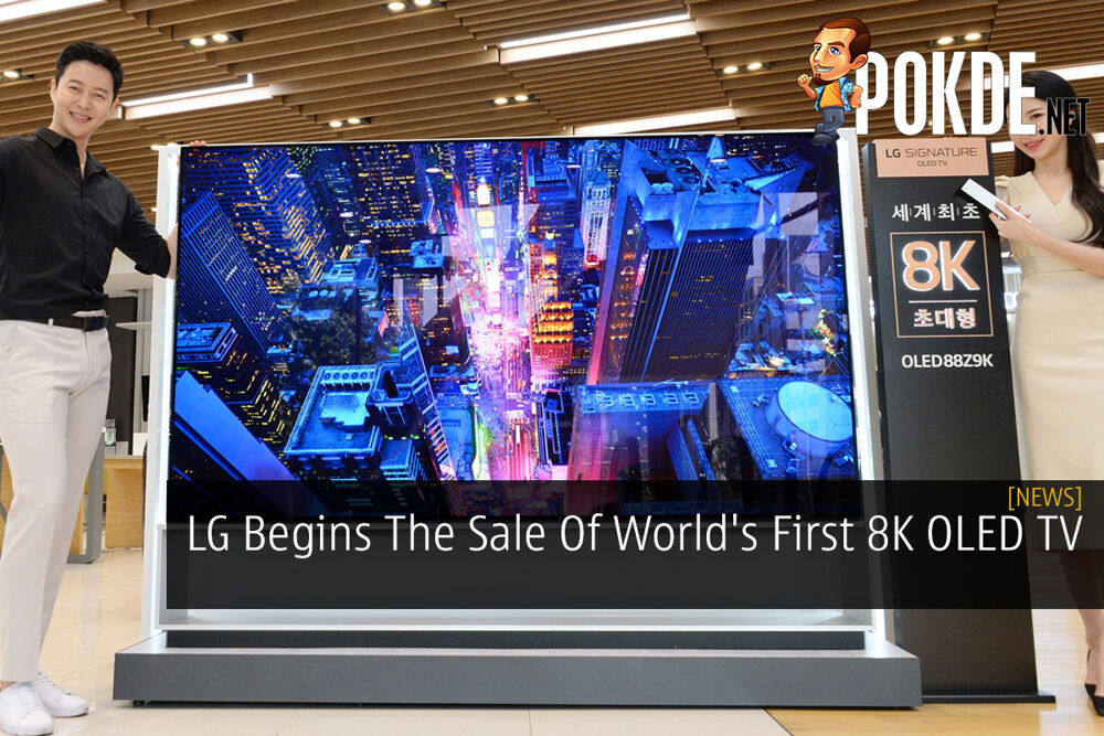 LG Begins The Sale Of World's First 8K OLED TV 22