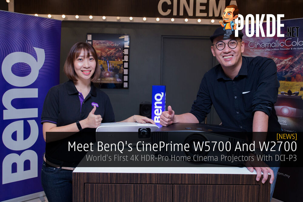 Meet BenQ's CinePrime W5700 And W2700 — World's First 4K HDR-Pro Home Cinema Projectors With DCI-P3 19
