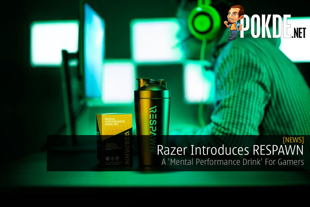 Razer Introduces RESPAWN — A 'Mental Performance Drink' For Gamers 23