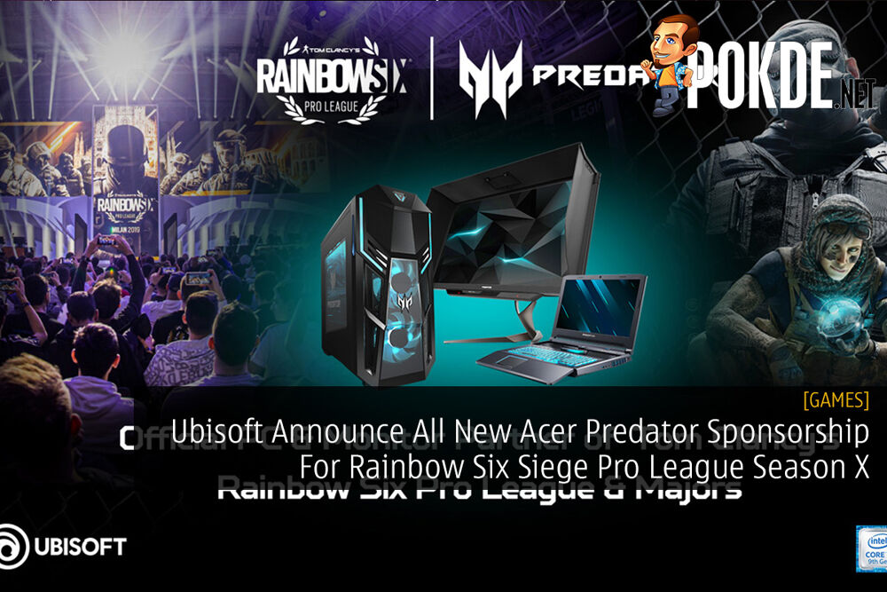 Ubisoft Announce All New Acer Predator Sponsorship For Rainbow Six Siege Pro League Season X 18