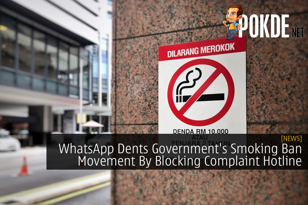 WhatsApp Dents Government's Smoking Ban Movement By Blocking Complaint Hotline 23