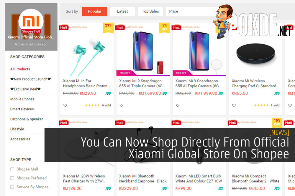 You Can Now Shop Directly From Official Xiaomi Global Store On Shopee 20