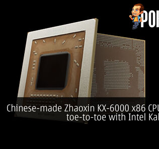 Chinese-made Zhaoxin KX-6000 x86 CPUs goes toe-to-toe with Intel Kaby Lake 19