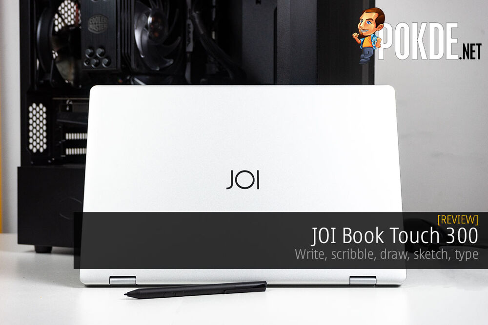 JOI Book Touch 300 Review — write, scribble, draw, sketch, type 19