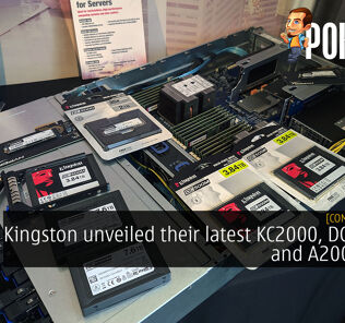 [Computex 2019] Kingston unveiled their latest KC2000, DC1000M and A2000 SSDs 32