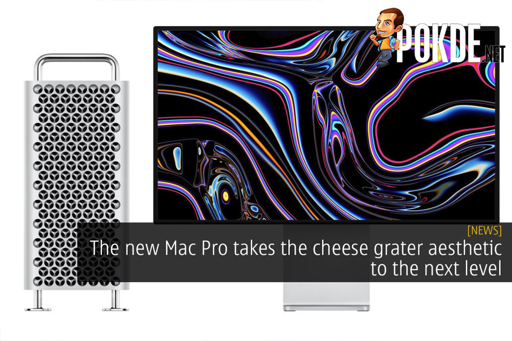 The new Mac Pro takes the cheese grater aesthetic to the next level 19
